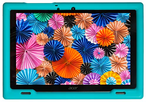 BobjGear Bobj Rugged Tablet Case for (25.7) Acer Iconia B3-A50 Kid Friendly (Terrific Turquoise)