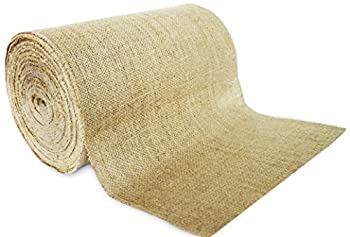 14  No-Fray Burlap Roll Table Runner 14 inches by 50 Yards Placemat Craft Fabric