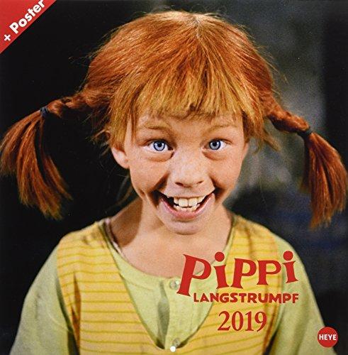 Pippi Langstrumpf Broschurkalender - Kalender 2019