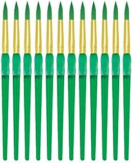 Royal Brush Big Kids Choice Paint Brush, Round, Size 8, Pack of 12 - 1300673