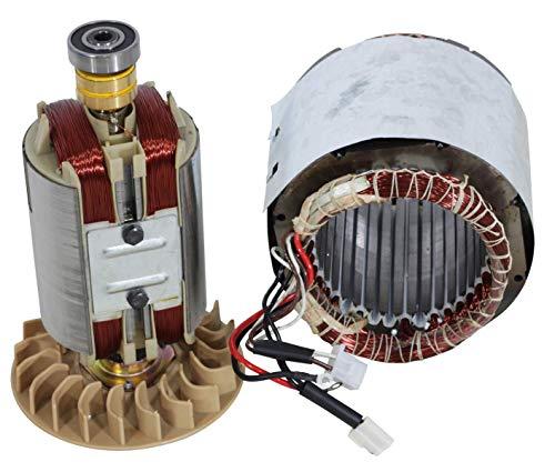 Bobina para generador de corriente de 13 CV, 1 fase, generador de corriente, estador, rotor
