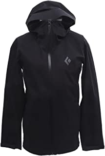 Black Diamond Stormline Stretch Rain Shell Jacket - Men's Black Small