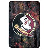 College Covers Florida State Seminoles Sublimated Soft Throw Blanket, 30' x 40', SUBTH