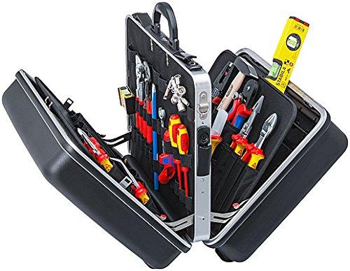 """KNIPEX 00 21 40 Werkzeugkoffer """"BIG Twin"""" Elektro 63-teilig"""