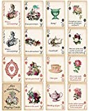 Alice Playing Cards Poker for Tea Party Supply Themed Party Gift