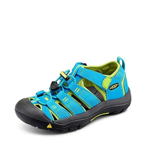 Keen Unisex-Kinder Newport H2 Sandalen Trekking-& Wanderschuhe, Haw Blue Green, Gr.- 35 EU