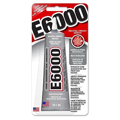 E-6000 Clear Industrial Strength...