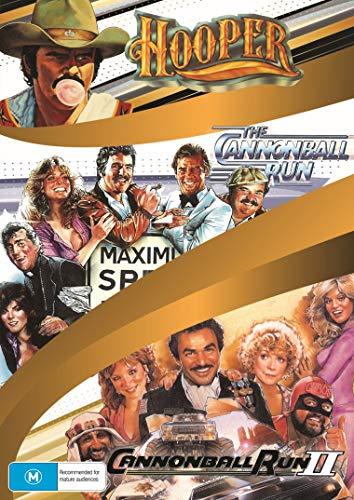 Burt Reynolds 3-Movie Collection (Hooper / The Cannonball Run / Cannonball Run II)