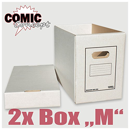 Comic Concept Magazin & Alben-Box