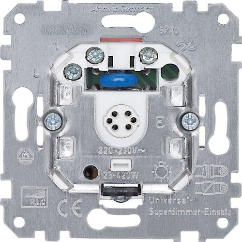 Merten 577099 Universal-Superdimmer-Einsatz, 25-420 VA