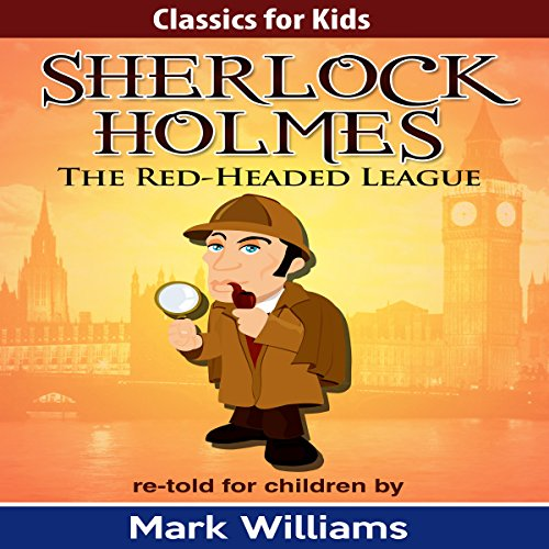 Sherlock Holmes Re-Told for Children audiobook cover art