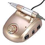 25.000rpm Elektrische Gerät, Maniküre Pediküre Profi Nagelschleifgerät 6Bits für Schleifbürste mit Thermoschutz