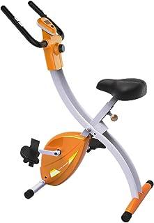 Fitleader Foldable Exercise Bike Desksice Wellness Upright Bike Magnetic Indoor Bike