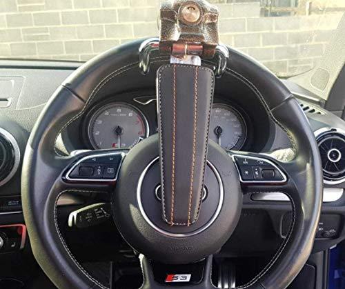 Choicit - Candado antirrobo para volante de coche (incluye 3 llaves)