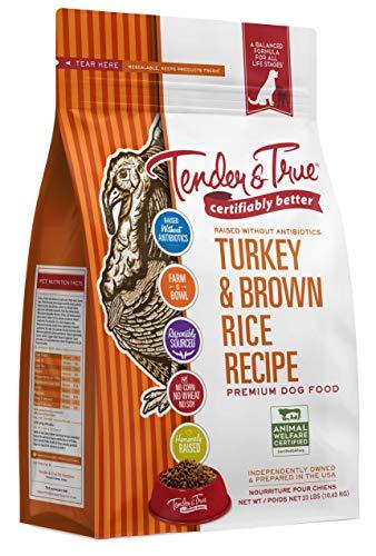 Tender & True Antibiotic-Free Turkey & Brown Rice...