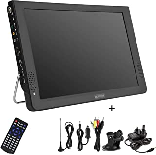 12 Inch Portable LED Digital TV with DVB-T2 DVB-T/DVB-T 1080P HD TV Support PVR/USB/TF Card Digital Analog TV Player with ...
