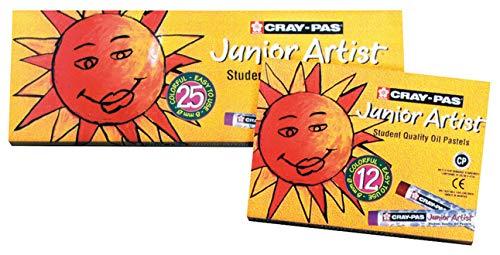 Sakura Cray Pas Junior Pastels Assorted