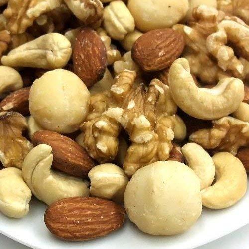 【江戸屋】4種類のミックスナッツ(くるみ入り) うす塩 1kg《新鮮・高品質・自慢の美味さ》
