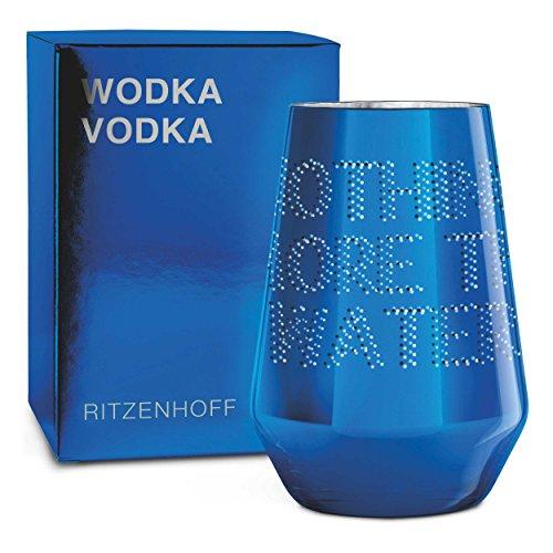 RITZENHOFF Next Vodka Vodkaglas von Pentagram, aus Kristallglas, 300 ml