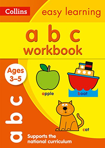 ABC Workbook Ages 3-5: Ideal for Home Learning (Collins Easy Learning Preschool)