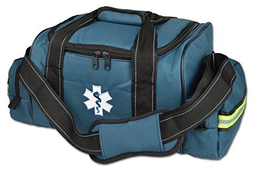 Lightning X Large EMT First Responder Bag w/Dividers - Navy Blue