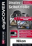digiCOVER - Protector de Pantalla para Nikon 1 V3