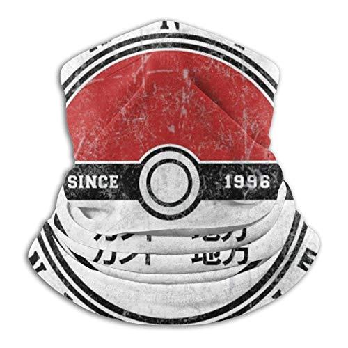 Kanto University desde 1996 Mon-star Of The Pocket Face Scarf Bandanas para polvo, aire libre, festivales, deportes