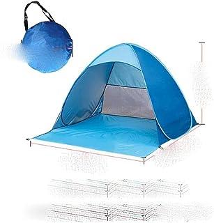 Strandtält ultralätt vikbart tält pop up automatisk öppet tält anti-UV familj turist fisk camping solskydd tält 200 x 165 ...