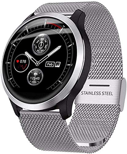 Reloj Inteligente IP67 Impermeable Hombres Y Mujeres Actividad Fitness Tracker Monitor De Ritmo Cardíaco Monitor De Sueño Pulsera Deportiva Para Ios Android-A-THE