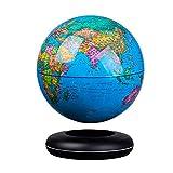 MIEMIE Levitazione Magnetica di Galleggiamento del Globo San Valentino Regali per Lui Self-Rotante Sfera Anti Gravity World Map Terra Gadget Tecnologici