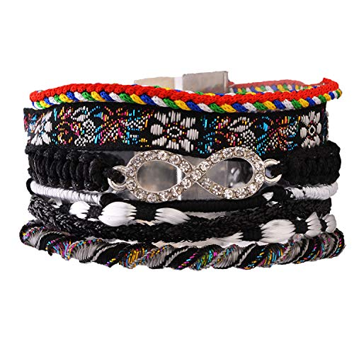 Morella Damen Armband im Ibiza Style Brasilien Look