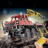 XJJY Técnica Articulated 8x8 Offroad Truck Funcion Set, Technic RC Registro de Camiones Conjunto de construcción con Motores, Bloques de 3050 Piezas compatibles con la técnica Lego