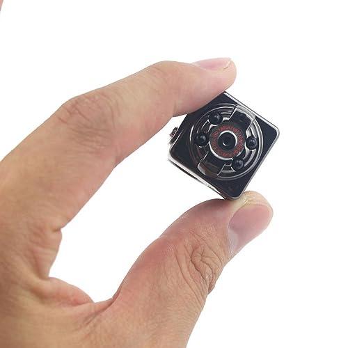 Rasse® HD Mini caméra enregistreur de SQ8 1080p Webcam DV numérique Enregistrement Vidéo DVR Caméra Enregistreur Micro Appareil photo - caméscope - Noir