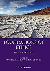Foundations of Ethics: An Anthology Book Cover