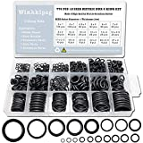 770 Pcs Rubber O Rings Kit, 18 Size Metric NBR Washer Gasket Sealing Assortment Kit, for Plumbing Faucet,Automotive, Air or Gas Connections, General Repair with Storage Box.