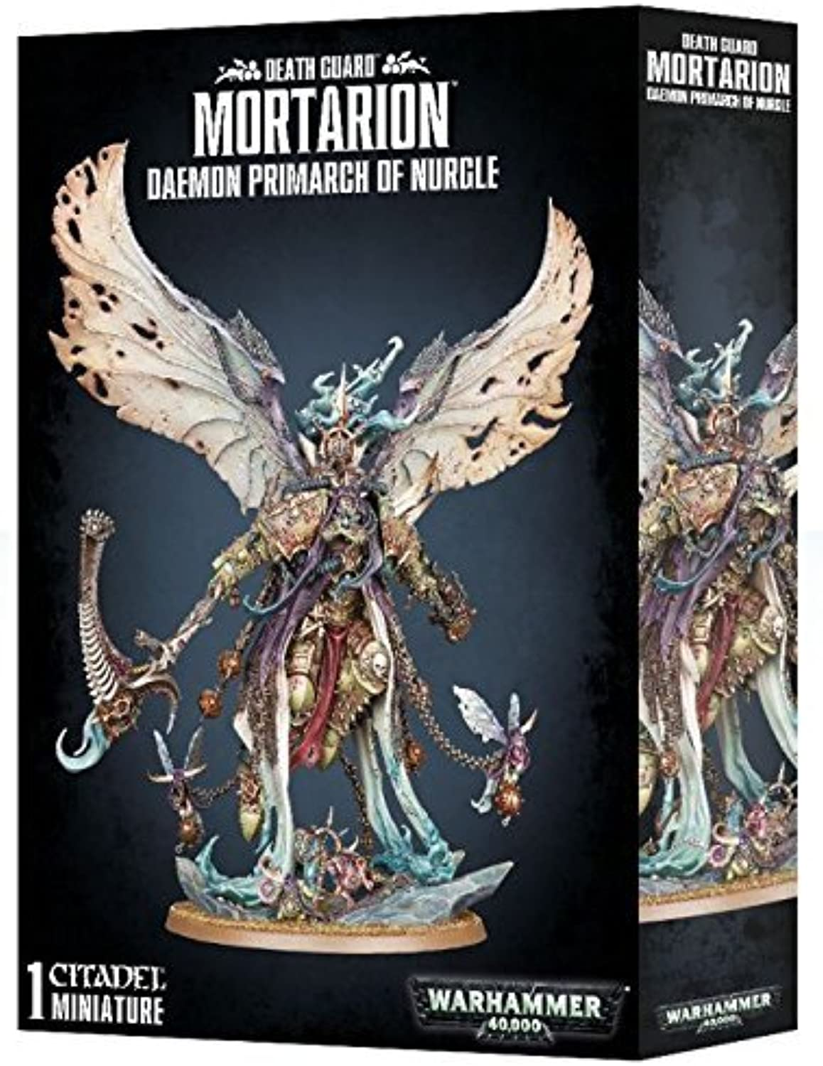 Games Workshop 99120102072Death mortarion  Daemon primarch of Nurgle Game