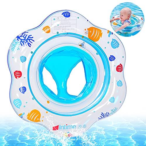 Baby Schwimmring,Baby Schwimmhilfe,Baby Schwimmen Ring,Aufblasbarer Kinder Schwimmring,Aufblasbare Schwimmhilfe mit Schwimmsitz,Baby Schwimmsitz,Pool Schwimmen Float für Kinder,Kinder Schwimmreifen