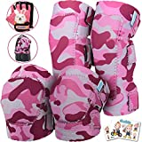 Elbow and Knee Pads for Kids with Bike Gloves | Toddler Protective Gear