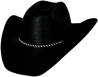 a73a13e7d9518 Montecarlo Bullhide Hats COUNTRY STRONG 30X Palm Leaf Straw Cowboy Western  Hat