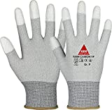 strongAnt TURIN CARBON TIP, guantes de seguridad ESD talla 10-10 pares