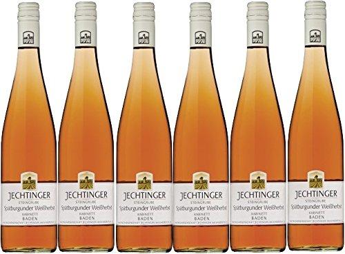 Winzergenossenschaft Jechtingen-Amoltern Jechtinger Steingrube Spätburgunder Weißherbst Kabinett mild (6 x 0,75L)