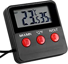 Thermometer, Thermo-Hygrometer, Aisxx Digital LCD Thermometer Hygrometer for Egg Incubator, Pet Keeping