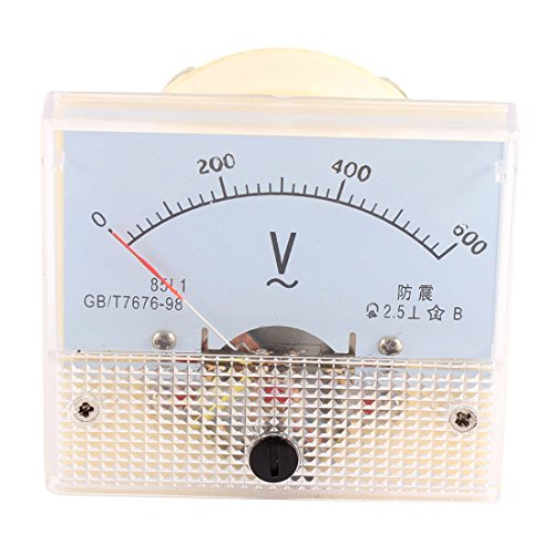 Aexit AC 0-600V Analog Panel Volt Voltmeter Voltmeter Messgerät (0a375617c46c7fb83bf8d93bea9312ac)