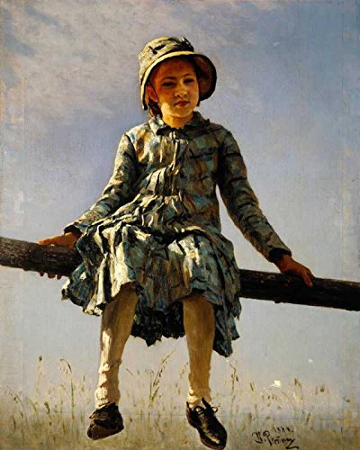 Das Museum Outlet–Ilja Jefimowitsch Repin–Artists Daughter–Poster Print Online (61x 45,7cm)