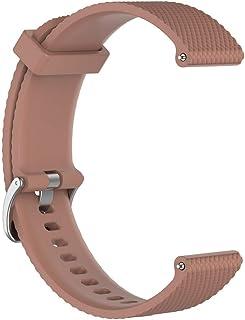 Horloge-accessoires Zachte siliconen slimme polshorlogeband Vervanging polshorlogeband Geschikt voor POLAR Vantage M Coffee
