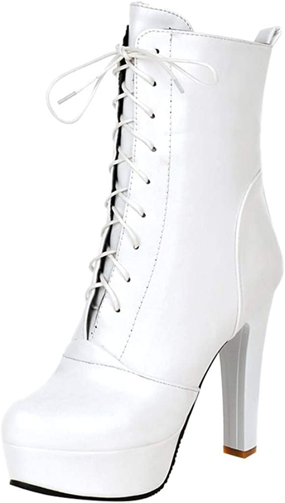 Vedolay Womens Boots Winter Clearance, Fashion Womens Leather La