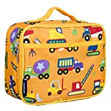 Wildkin Kids Insulated Lunch Box for Boys and Girls, Perfect Size for Packing Hot or Cold Snacks for School and Travel, Patterns Coordinate with Our Backpacks and Duffel Bags, Under Construction
