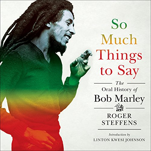 So Much Things to Say audiobook cover art