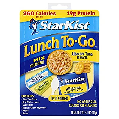 StarKist Charlie's Snack Kit Chunk Light Tuna in Water by