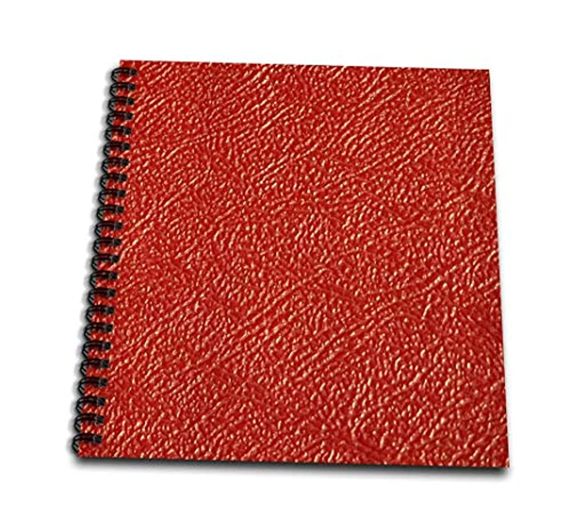 3dRose db_47840_2 Red Leather Memory Book, 12 by 12
